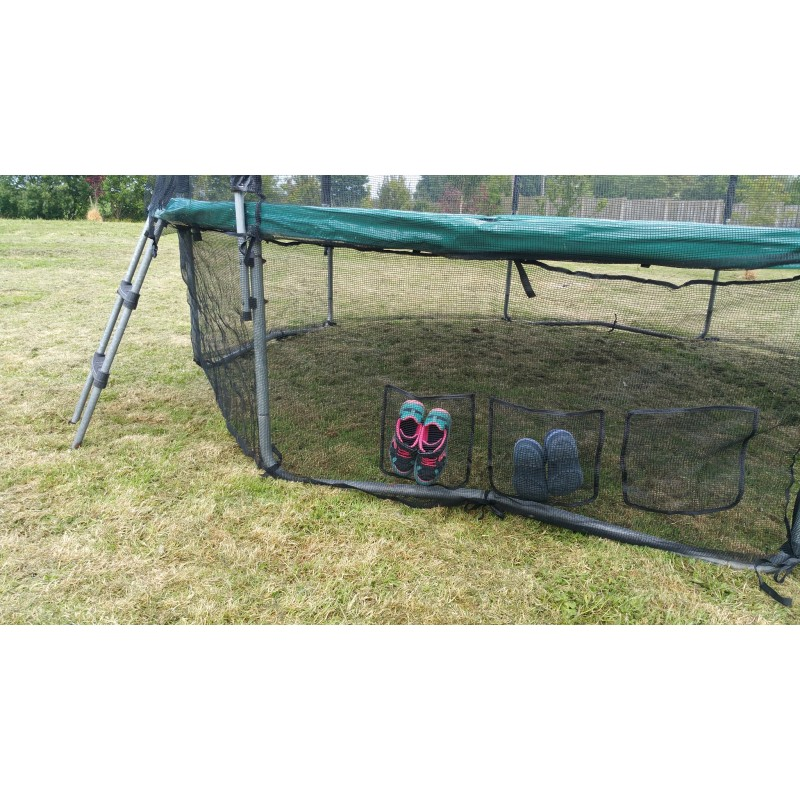 Trampoline Parts Ireland: 13 Foot Trampoline Safety Skirt Net With Integrated Shoes