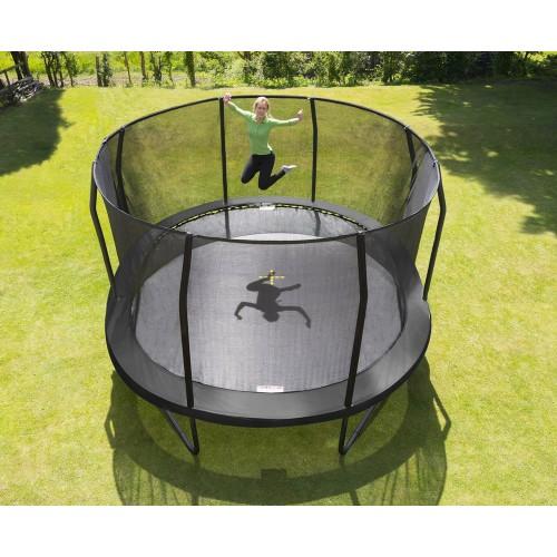 JumpKing 14ft x 17ft Oval JumpPod Trampoline