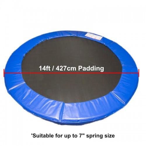14 ft Premium Trampoline Safety Padding (Blue)