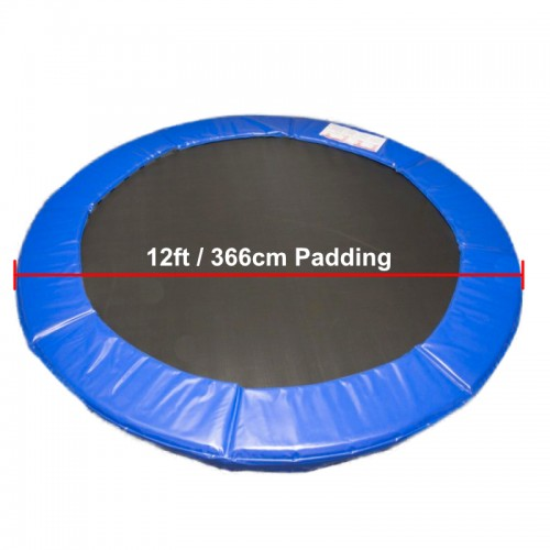 12 ft Super Premium Trampoline Safety Padding (blue)