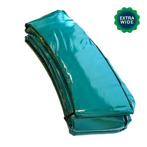14 ft Super Premium Trampoline Safety Padding (Extra Wide - Green)