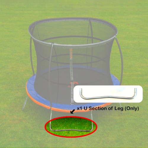 Jump Power U Section of Leg of Frame for 10 foot trampoline