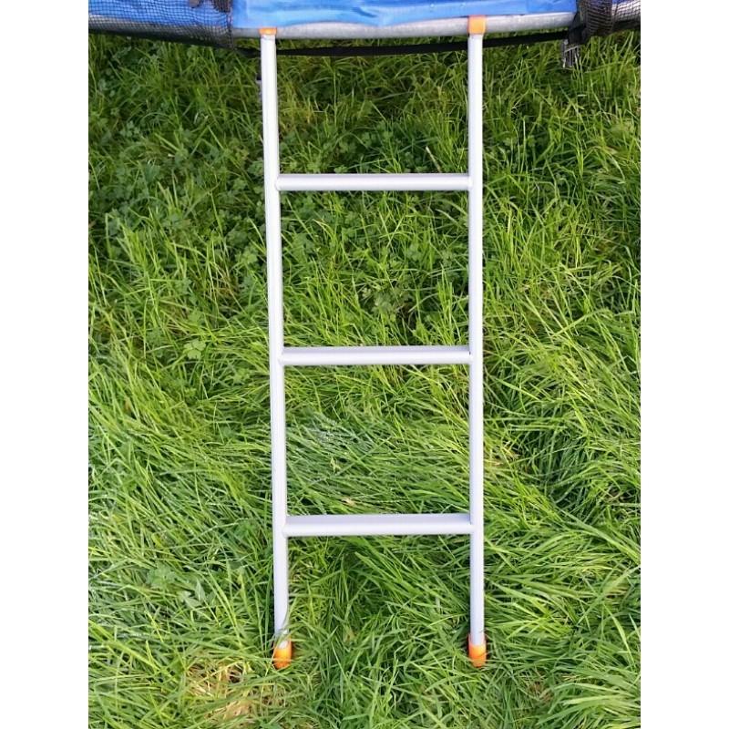 Trampoline Parts Ireland: Trampoline Ladder 3 Steps Grey