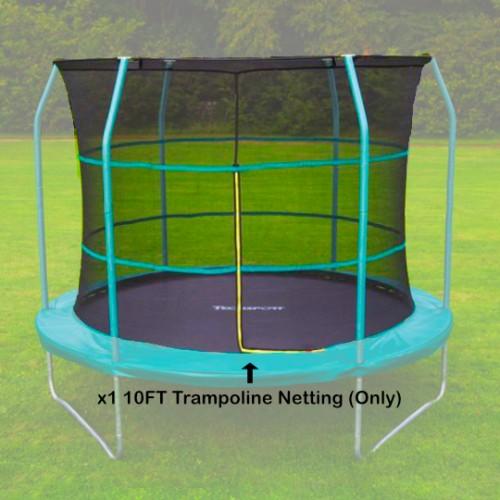 Tech Sport 10 ft Trampoline Netting (inside type for 6 straight poles)