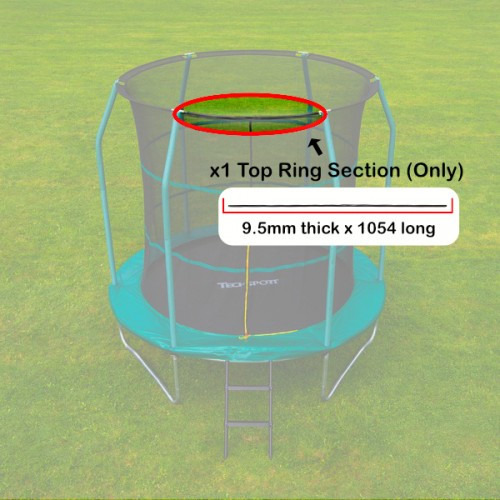 Tech Sport Top Ring Section (9.5mm for 8 foot)