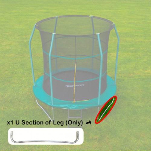Tech Sport U Section of Leg of Frame for 8 foot trampoline